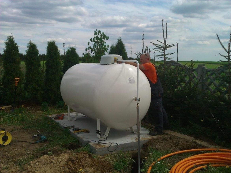 Cudowna Zbiornik na gaz, montaz zbiornika 2700 litrów Chojnice, pomorskie SM29