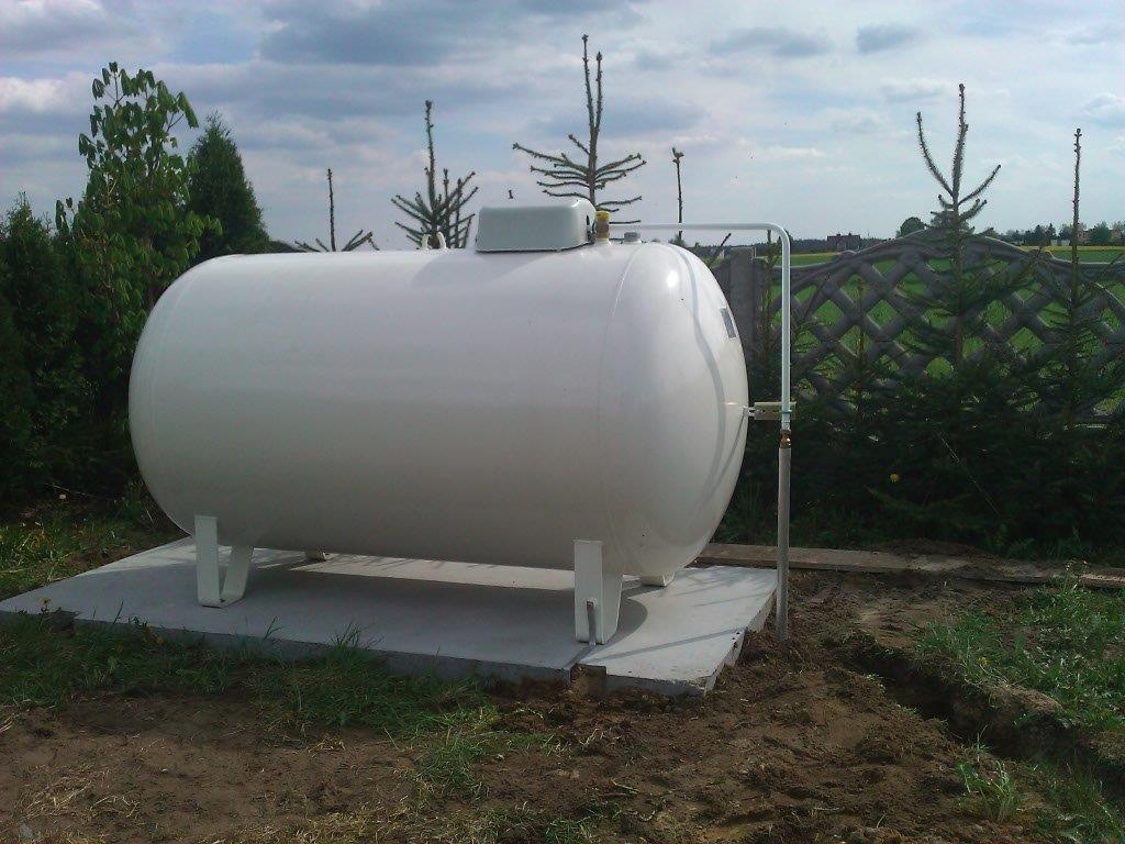 Cudowna Zbiornik na gaz, montaz zbiornika 2700 litrów Chojnice, pomorskie RX76
